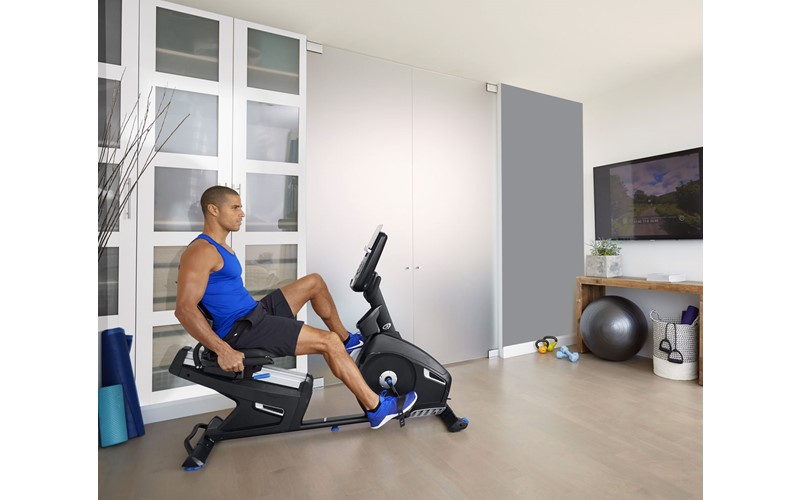 R628 Recumbent Bike black